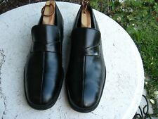 FLORSHEIM Imperial  Black leather loafers men's size 9.5 M  very nice!