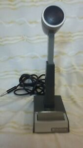 Siltronix Shure model CM17L DESK MICROPHONE HAM CB Radio