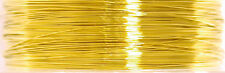 Jewellery Making 34 Gauge Beading Wire Craft Factory 0.22mm x 21.9m/24 yrds Gold
