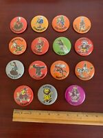 """15 Vintage 1972 NFL Football 2"""" Pinback Buttons """"Say It With Buttons"""" Nice Lot !"""