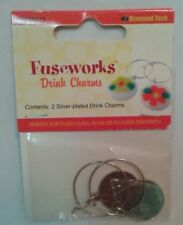 Fuseworks  Drink Charms For Fusing Glass, Resin or Clay Crafts FW86615