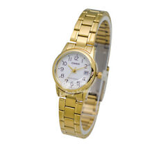 -Casio LTPV002G-7B2 Ladies' Metal Fashion Watch Brand New & 100% Authentic