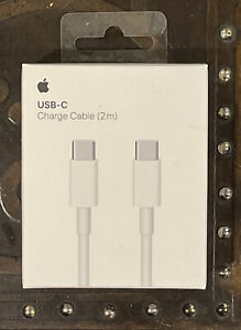 Genuine OEM Original Apple USB-C Charge Cable (2M) MLL82AM/A *BRAND NEW SEALED*