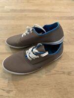 Superdry Trainers Grey Canvas Pumps Shoes Plimsolls Size UK 7 Superdry Mens