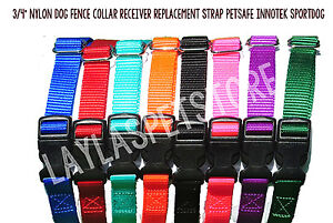 Stubborn Dog Stay+Play Wireless Fence® Solid Strap No Holes Receiver Collar