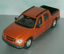 1/25 Scale Ford Explorer Sport Trac Diecast Model Pickup - Maisto 31991 Orange
