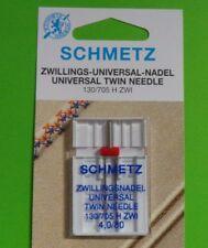 Twin Needle/Double Needle,for nähmaschine- 4,0 mm Strength 80 Flat Piston Needle