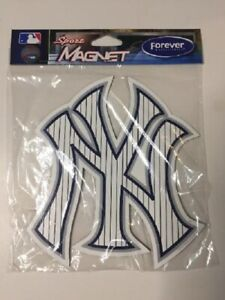 """NEW YORK YANKEES 6""""X5"""" PINSTRIPE MAGNET NEW AND OFFICIALLY LICENSED"""