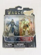 Jakks Warcraft Alliance Soldier vs. Horde Warrior Mini Figure