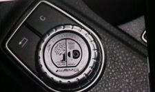 Silber AMG Affalterbach Logo Benz Multimedia Aufkleber Sticker Emblem  Logo 29mm