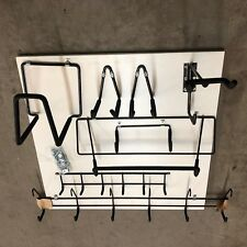 Mixed 8 NEW Closet Maid Strong Steel Padded MUST-HAVE HOOKS Garage Shed Workshop