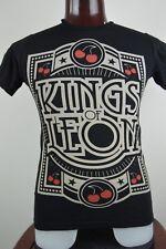 Kings Of Leon Mens S Black Graphic T Shirt Alternative Southern Garage Rock