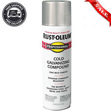 Professional Cold Galvanizing Compound 20 Ounce Spray Paint Zinc Rich Coating