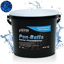 Starterbakterien Bakterien Teich Gartenteich KOIPON ® Pon Balls Filterstarter