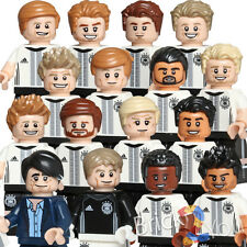 LEGO 71014 DFB Complete Set of 16 Minifigures German Soccer Team Die Mannshaft