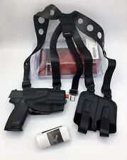 HK USP COMPACT | Safariland 1051 ALS Shoulder Holster w/ Dual Mag Pouch Black RH