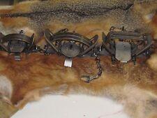 18 duke coil spring traps 6 new #2 duke, 6 new # 3 duke, 6 New Duke # 4 4x4coil