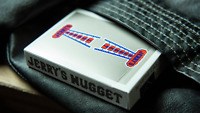 Vintage Feel Jerry's Nuggets Steel Colour Playing Cards 1 Deck New
