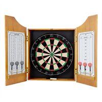 Solid Wood Dart Cabinet Set Professional Board Cricket Tournaments