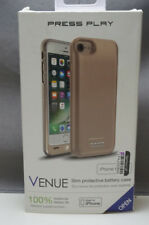 Authentic Press Play (VENUE) iPhone 6/6s/7 Extended Battery Case - Gold #350699