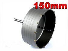 SDS Plus 150 mm Bohrkrone Dosenbohrer Lochbohrer Kernbohrer  mit Bohrer