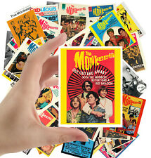 """Stickers pack [24 stkrs 2.5""""x3.5""""] Monkees Rock Music Poster Advers 5022"""