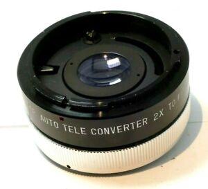 Soligor 2X Teleconverter lens Tele-plus for Canon FD mount manual focus