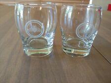 3 Jack Daniel's Honey Round Rocks Glasses