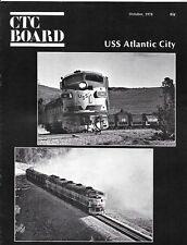 CTC Board Oct.1978 USS Atlantic City F Units Iron Ore Union Pacific Western
