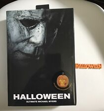NECA Ultimate Michael Myers Halloween 2018 7? Action Figure With 3D Sign New
