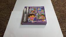 Dora the Explorer: Double Pack (Nintendo Game Boy Advance, 2007)
