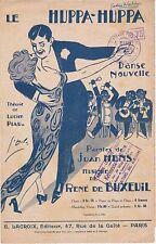 Partition alt partitur sheet music - Danse de Lucien Piau - Le Huppa-huppa
