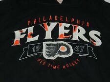 Philadelphia Flyers Old Time Hockey Hoodie ( BIG men's 2XL)