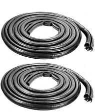 1994-2002 Dodge Ram 1500 2500 3500 pickup truck cab door weatherstrip seals pair