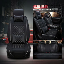 Car Deluxe Edition Seat Covers 5-Seats Full Seat Cover Auto Interior Accessories