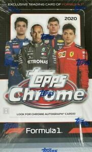 2020 Topps Chrome Formula 1 F1 Racing Hobby Box
