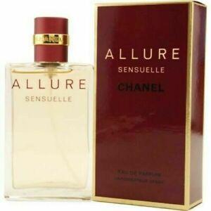 ALLURE SENSUELLE by CHANEL Eau de Parfum EDP 3.4 oz 100ml Brand New Sealed Box!