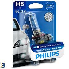 1x H8 Philips White Vision 35W 60% Bombilla del faro 12360WHVB1