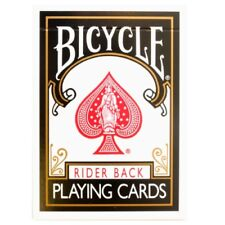 Black Bicycle Cards - Bicycle Deck - Rider Back USA Made - Poker Size