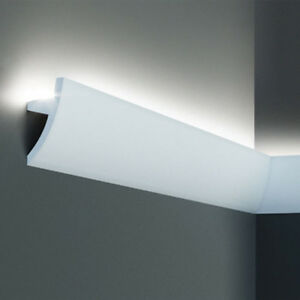 A52 Indirect Lighting Coving Moulding 75mm high x 36mm wide x 2000mm long
