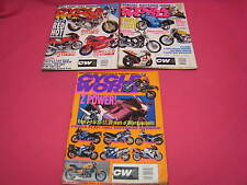 3 CYCLE WORLD MOTORCYCLE MAGAZINES 1993:RD350, MAGNA 750, ZX-11, K1100RS (Y88)