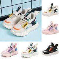 Toddler Kids Baby Girls Boys Shoes Mesh/PU Sports Shoes Fashion Sneakers Shoes
