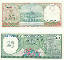 Suriname - 25 Gulden 1985 UNC - Pick 127b