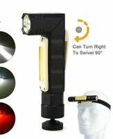 Rechargeable Multi-Functional LED Flashlight With Headlight Strap 5W 2300 Lumens