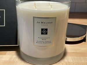 Jo Malone Pomegranate Noir Luxury 4 Wick Candle BNIB With All Packaging