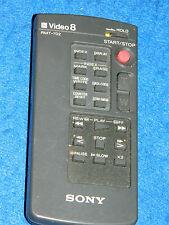 Télécommande Remote control SONY VIDEO 8 RMT-702