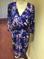 Dress By Kaliko Size 14 Fully lined Multi coloured