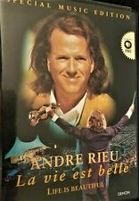Andre Rieu La Vie Est Belle/ Life Is Beautiful Special Music Edition Dvd