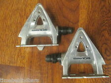 VINTAGE SHIMANO 105 PD-1050 SPD-R CLIPLESS PEDALS