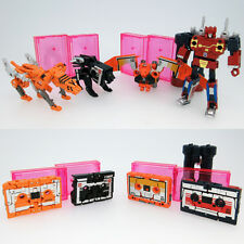 Takara Tomy Transformers Masterpiece MP15/16-E cassette Bot vs cassette Ron